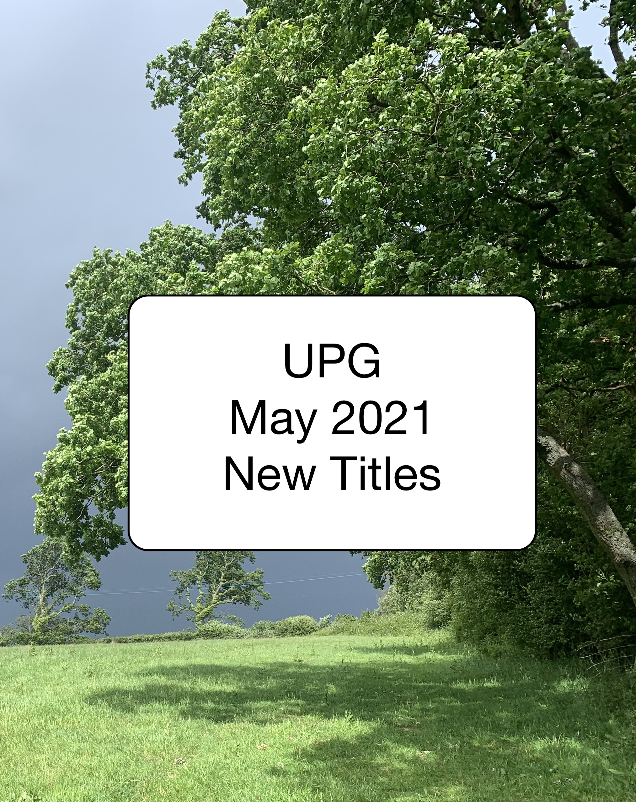 UPG May 2021 New Titles